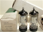 Brand New MINT NOS NIB 1964 Mullard CV2901 EF86 Solid Shield Military tubes. SAME REVISION/Year 9r3 B4xx Blackburn Production Date Codes. Made in Great Britain.