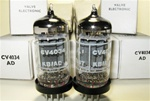 Brand New MINT NOS NIB Rare 1970 BRIMAR CV4034 Long Plate Military tubes. CV4034 Flying Lead is Premium Grade, High Reliability Long Life version of ECC82/CV4003/12AU7/13D5 valves. Etched STC Rochester Plant Date Codes. Made in England.