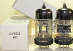 Brand New MINT NOS NIB Rare 1960-62 BRIMAR CV4033 Black Plate Military tubes. CV4033 Flying Lead is Premium Grade, High Reliability Long Life version of CV4024/6060/ECC81/12T7 valves. STC Rochester Plant Date Codes. Made in England.