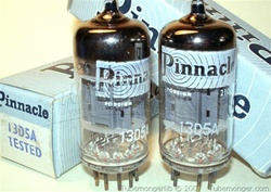 Matched Pairs MINT NOS NIB Pinnacle 13D5/13D5A Industrial Grade 12AU7 ECC82 Tubes - Factory Aged and Tested. Tubes were made by Toshiba Japan for Pinnacle, one of the British Labels.