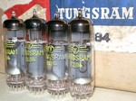 Brand New, MINT NOS from Bulk,  Rare 1965-66 Tungsram EL84 tubes, Made in Hungary. Tubes are from 3 lots with 1965-1966 date codes. Tungsram EL84's are hard to find in this condition.