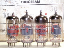 Brand New, Matched Pairs MINT NOS Rare Aug 1968 Industrial Grade E88CC 6922 with individual 4 digit serial number Etched in Glass. Made in Hungary. All tubes from the same date/batch code of 9G. Industrial grade tubes were subject to rigorous tests.
