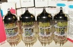 Brand New, MINT NOS NIB 1971-72 RFT  ECC82 12AU7 Single Support Halo Getter Tubes. Made in E. Germany.