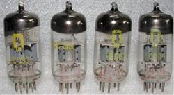 USED SINGLE TUBES Late 1960s RFT ECC83 12AX7 VEB Röhrenwerke Anna Seghers Neuhaus Prod Tubes with Halo Getter. Made in E. Germany. These are in the top 2-3 desirable tubes for Guitar tone, and also work fine in Audio gear.