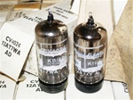 Brand New, MINT NOS NIB 1965-66 Brimar Military Production CV4024 12AT7WA tubes with Black Plates and copper posts. STC Production, Made in England. Very desirable 12AT7/ECC81 type tube for both Audio and Guitar applications.