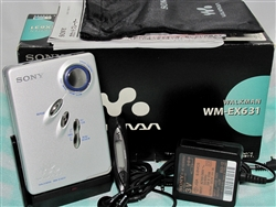 Like New 2002 Sony Walkman Cassette Player WM-EX631 with Original Box - Made in Malaysia - Reconditioned