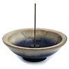 Incense Holder Mountain Mist  Wheel , Ceramic, 4.5 inch(Shoyeido)