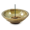 Incense Holder Sandstone Wheel , Ceramic, 4.5 inch(Shoyeido)