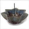 Incense Holder Lotus , Ceramic, 4 inch (Shoyeido)