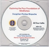 Exploring the Four Foundations of Mindfulness MP3 CD By: Dzogchen Ponlop Rinpoche
