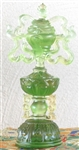 Statue Eight Auspicious Symbols, 07 inch, Glass