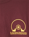 T-Shirt, maroon, with new KTD Logo