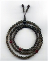 Mala Smoky Quartz, 06 mm, 108 beads