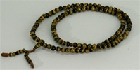 Mala Tiger Eye, 06 mm, 108 beads