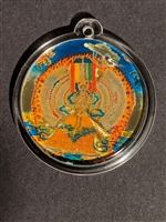 Deity Pendant White Umbrella