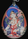White Tara Pendant tear drop