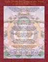 Card Laminated; Eight Verses for Training the Mind
