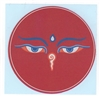 Buddha Eyes,  (Sticker)