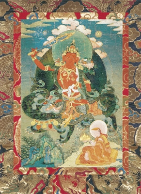 "Manjushri, Card Laminated; 5""x7"""