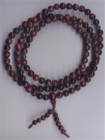 Mala Red Tiger Eye, 08 mm, 108 beads