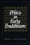 Ethics in Early Buddhism