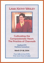Cultivating the Compassionate Heart: The Practice of Chenrezig, DVD <br>  By: Lama Kathy Wesley