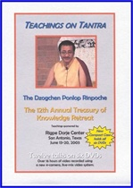 Teachings on Tantra, DVD, Ponlop Rinpoche