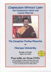 Compassion Without Limit: The Courageous Heart and Lojong Practice, DVD<br>  By: Ponlop Rinpoche