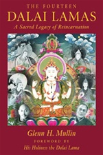 Fourteen Dalai Lamas: A Sacred Legacy of Reincarnation <br>  By: Glenn Mullin