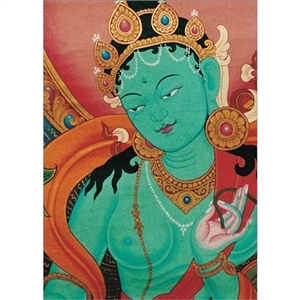 Green Tara: The Swift Liberator, Note Card