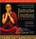 Destructive Emotions: How Can We Overcome Them? CD<br>  By: Dalai Lama and Daniel Goleman