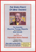 Seven Points of Mind Training, DVD