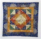 "Puja table Cloth / Shrine Cloth 16"" x 16"";"