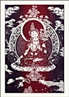 "White Tara by: Radiant Heart : 13"" x 18"" D-5"