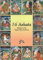 16  Arhats: Murals of the Vajra Vidya Institute