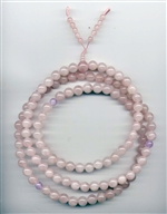 Mala Rose Quartz, 10 mm, 108 beads