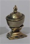 "Kapala, brass, small 2.5"" in height, diameter of cup: 1.75"""