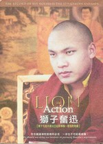 Lion in Action, Record of His Holiness the 17th Karmapa , DVD <br>  By: Ogyen Trinley Dorje, the 17th Karmapa