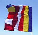 Buddhist Flag, large