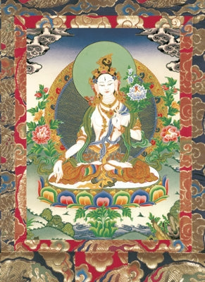 White Tara Longevity, Card Laminated