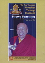 Phowa Teachings (CD)<br>  By: Khenchen Thrangu Rinpoche