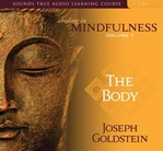 Abiding in Mindfulness Vol. 1: The Body (Audio CD) <br> By: Goldstein, Joseph