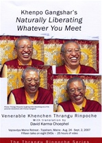 Khenpo Gangshar's Naturally Liberating Whatever You Meet, DVD<br>  By: Thrangu Rinpoche