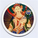 White Tara, Close-up, Magnet
