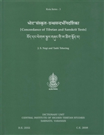 Concordance of Tibetan and Sanskrit Texts