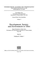 Development, Society, and Environment in Tibet