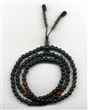 Mala Smoky Quartz, 05 mm, 108 beads on elastic string
