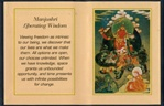 Folding Thangka:  Manjushri Liberating Wisdom