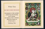 Folding Thangka:  White Tara