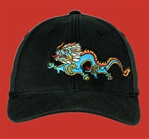Baseball cap: Dragon, Black